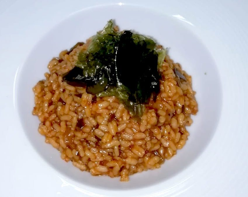 Arroz de algas