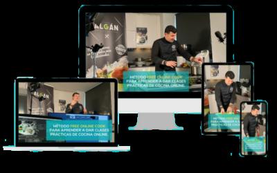 Comienza una nueva edición del método FreeOnlineCook para aprender a dar clases prácticas de cocina online en directo