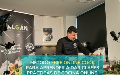 El 22 de abril no te puedes perder la 3ª edición del método FreeOnlineCook para dar clases prácticas de cocina online