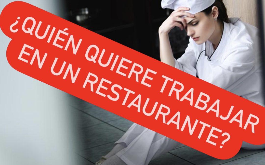 ¿Dónde están los cocineros? Parte II reflexiones desde la barrera gastronómica